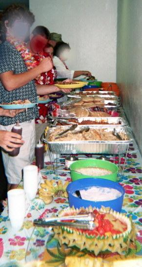 Hawaiian Luau Buffet