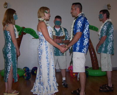 Robbie & Mike Rice's Hawaiian Wedding Ceremony
